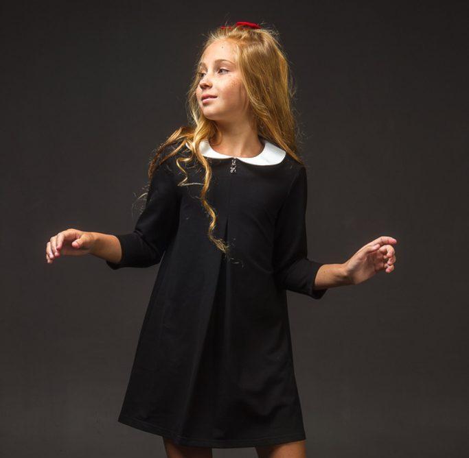 Синтетическое платье