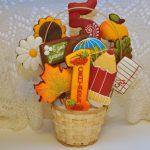 Фото 3: Вкусный букет из пряников на 1 сентября