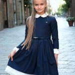 Фото 24: Стильное платье на 1 сентября