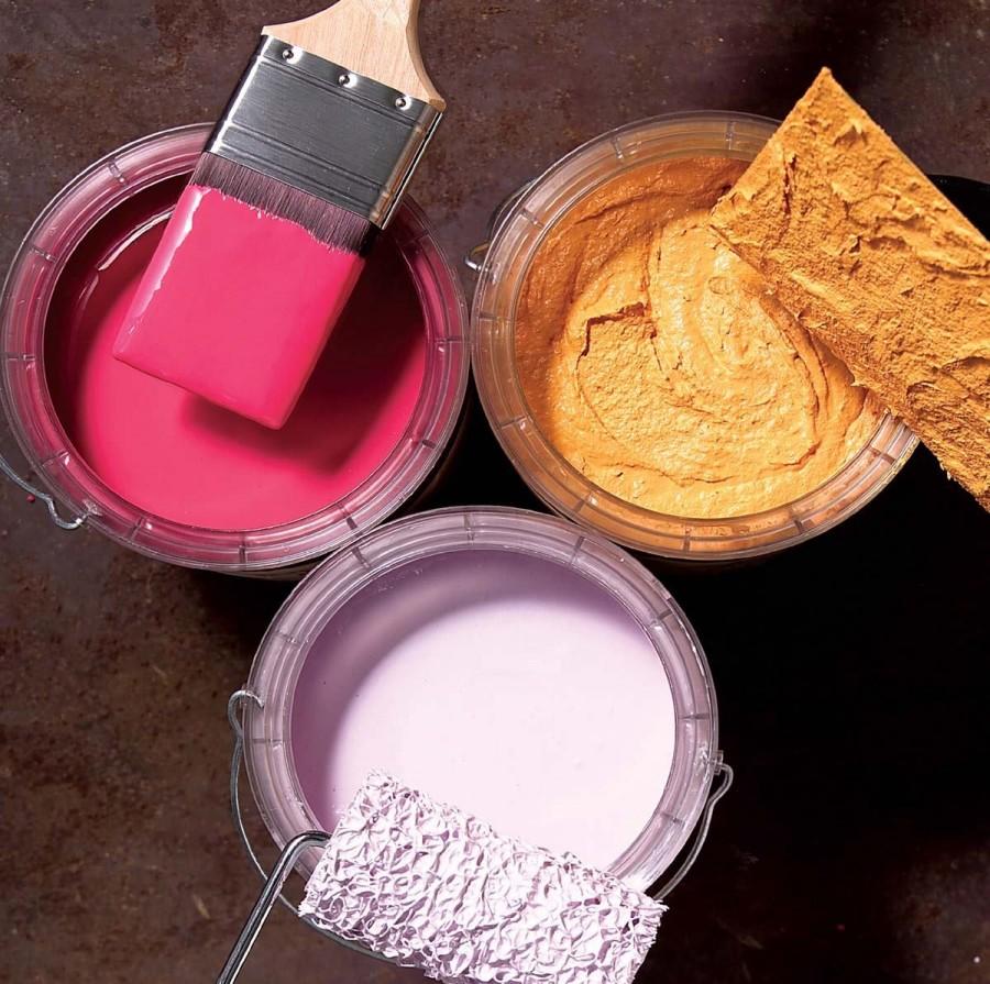 Латексные (водно-дисперсионные) краски для обоев