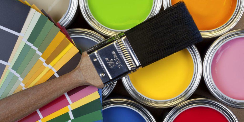 Краски для стен в квартире