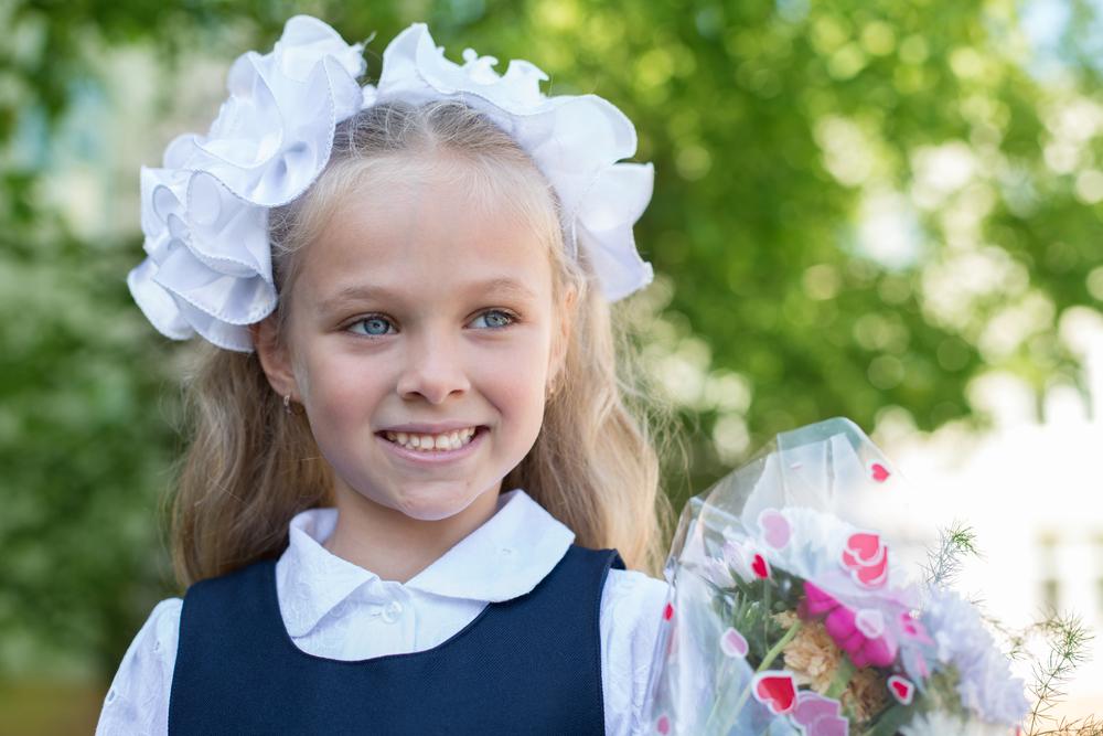 Банты для девочек на 1 сентября