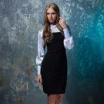 Фото 22: Деловое платье с рубашкой