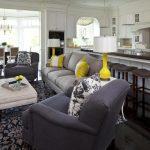 Фото 75: Дизайн кухни и гостиной