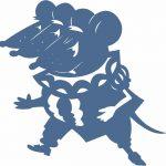 Фото 84: Шаблон Крысы из Щелкунчика