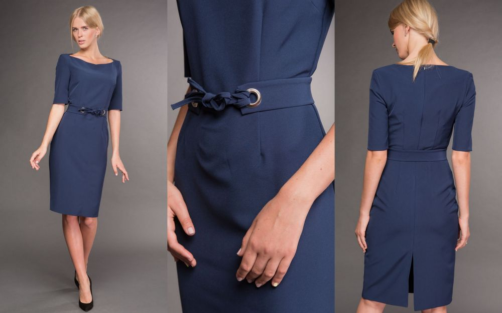Стильное платье для мамы на 1 сентября