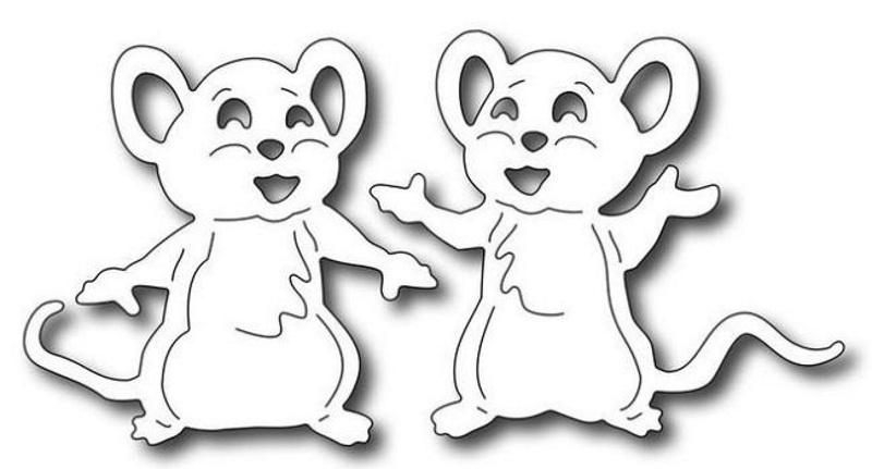 Вытынанка мышата
