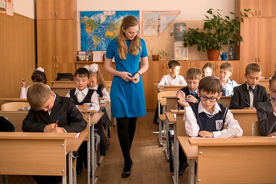 Длина платья педагога