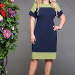 Фото 56: Двухцветное платье для мам