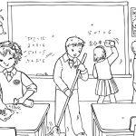 Фото 33: Раскраска школьная жизнь