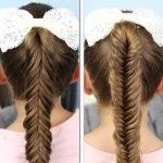 Фото 67: Прическа для девочки на школьную линейку