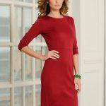 Фото 58: Красное платье