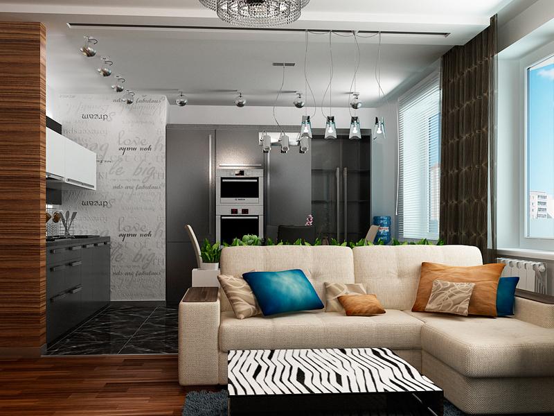 Гармоничное стилевое решение единого пространства
