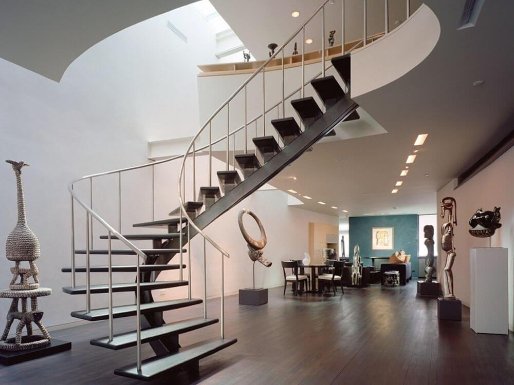 лестницы на тетивах и маршевые ограждающие конструкции