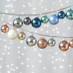 Фото 66: Новогодние шарики с металлическим блеском