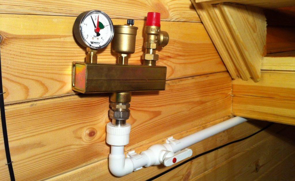 температура системы отопления