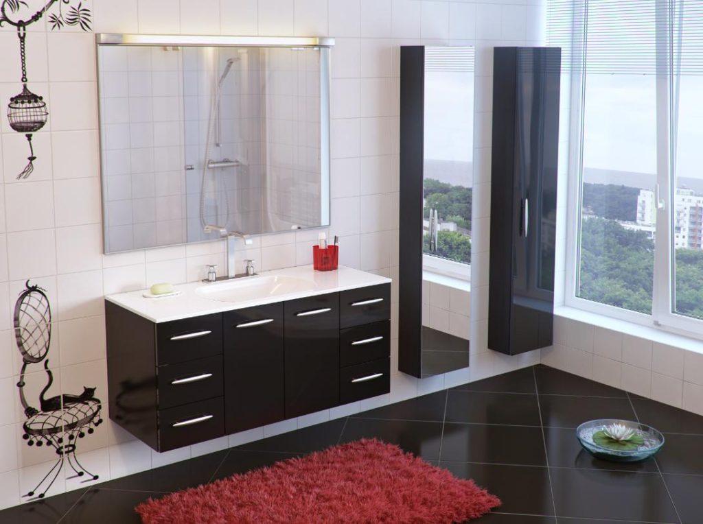 Стильный образ ванной комнаты
