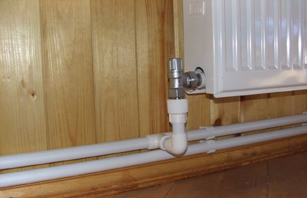 Двухтрубная система отопления в частном доме
