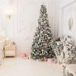 Фото 45: Белоснежный новогодний декор