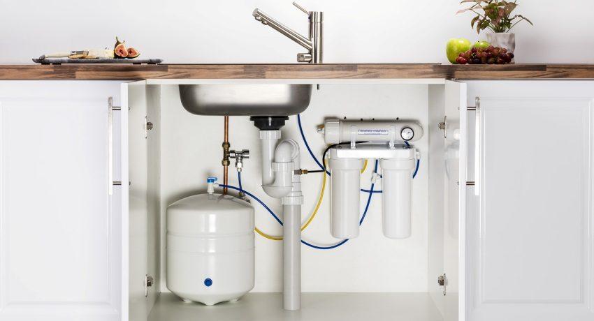 установка проточного фильтра для воды