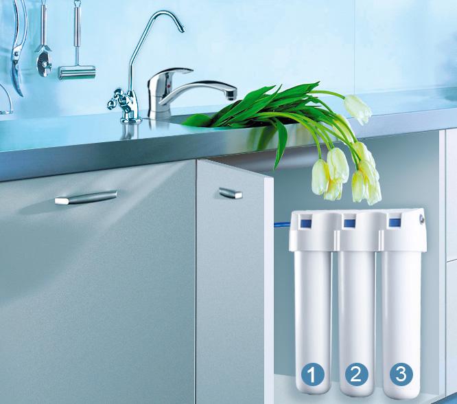 Принцип работы системы фильтрации воды