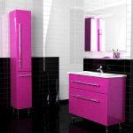 Фото 40: Цвет фуксия в интерьере ванной