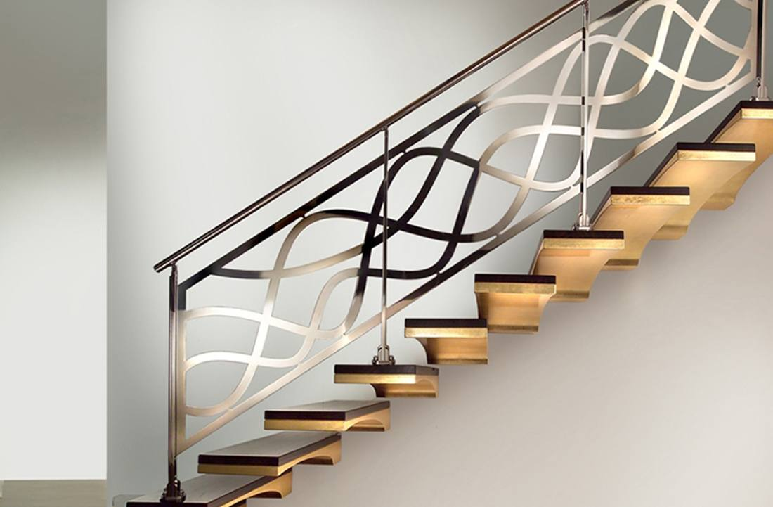 Девокативные перила для лестниц