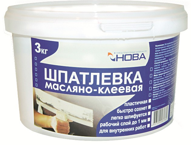 Масляно-клеевая шпаклевка