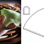 Фото 93: Выкройка мышки из ткани