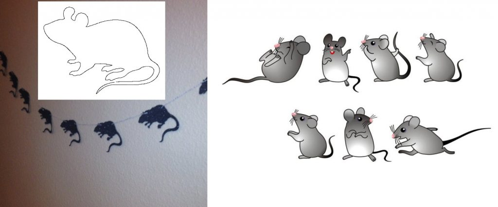 Гирлянда из крыс