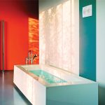Фото 34: Вентилятор в интерьере ванной