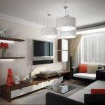 Фото 14: Дизайн гостиной