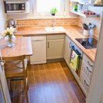 Фото 26: Дизайн маленькой кухни
