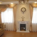 Фото 15: Жёлтые классические шторы