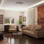 Фото 8: Интерьер гостиной проходной - идеи