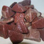 Фото 34: Камни для бани-малиновый кварцит