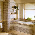 Фото 45: Клинкер плитка в ванной