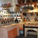 Фото 39: Кухня в этно стиле