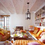 Фото 58: Натяжной потолок в стиле бохо