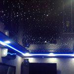 Фото 41: Натяжной потолок с звёздным небом