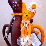 Фото 1: Подарок на свадьбу - кошечки