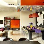 Фото 62: Потолок в стиле фьюжен