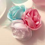 Фото 21: Розы из ленточек