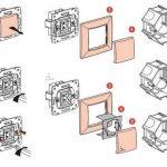 Фото 49: Схема Особенности монтажа выключателей Легранд