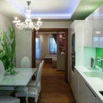 Фото 3: Фотообои на кухне