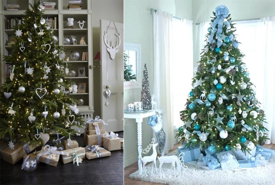 Декор большой елки