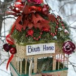 Фото 8: Украшение кормушки для птиц к Новому Году