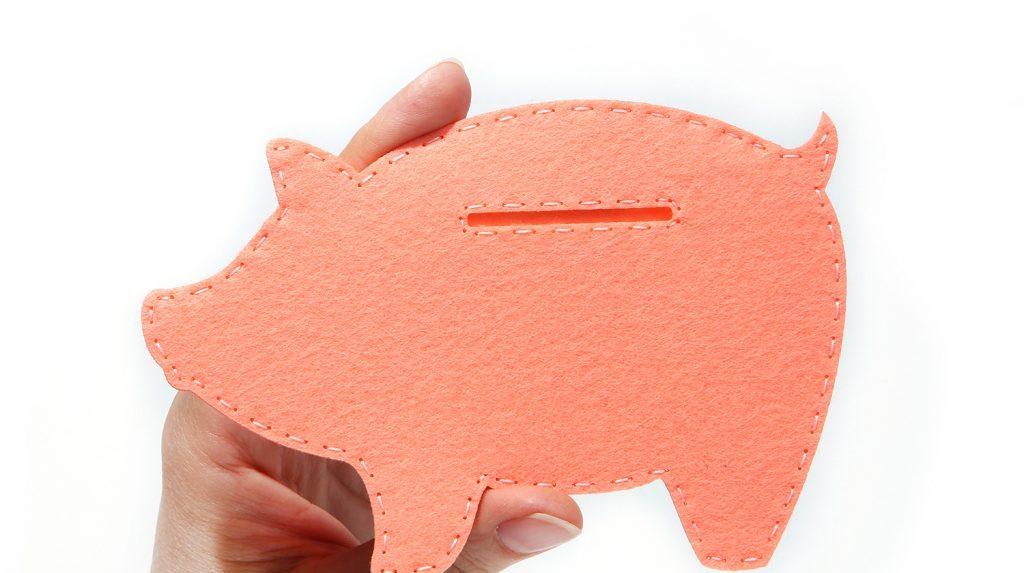 Свинка из фетра по шаблону