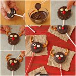Фото 17: Печенье олени на палочке