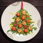 Фото 91: Салат елочка порционный